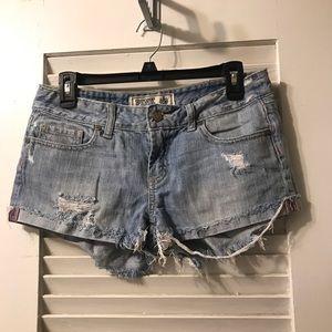 Victoria Secret PINK denim shorts